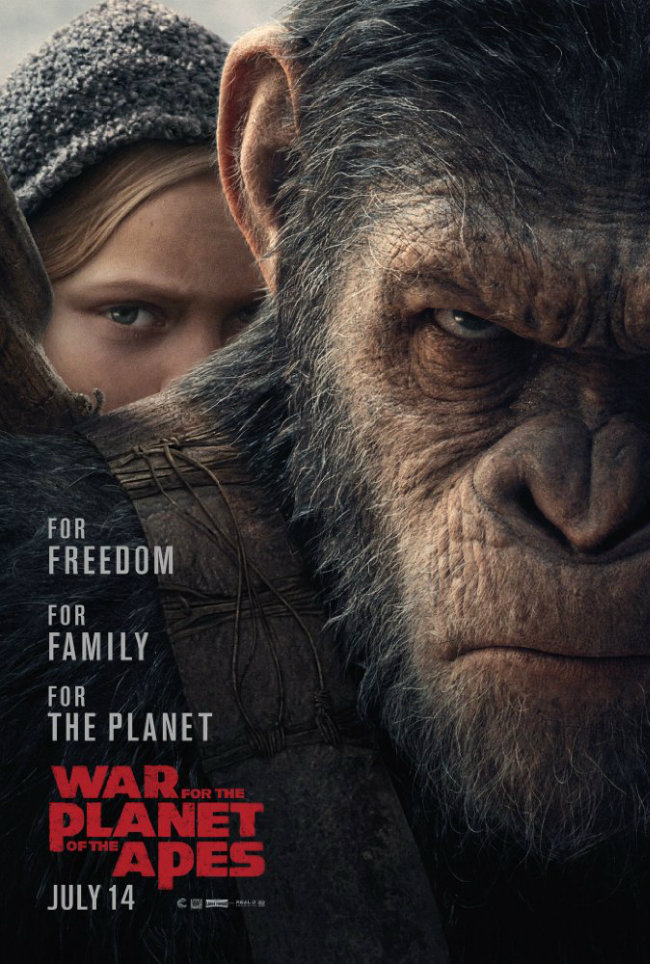 Maymunlar Cehennemi 3: Savaş – (War for the Planet of the Apes)