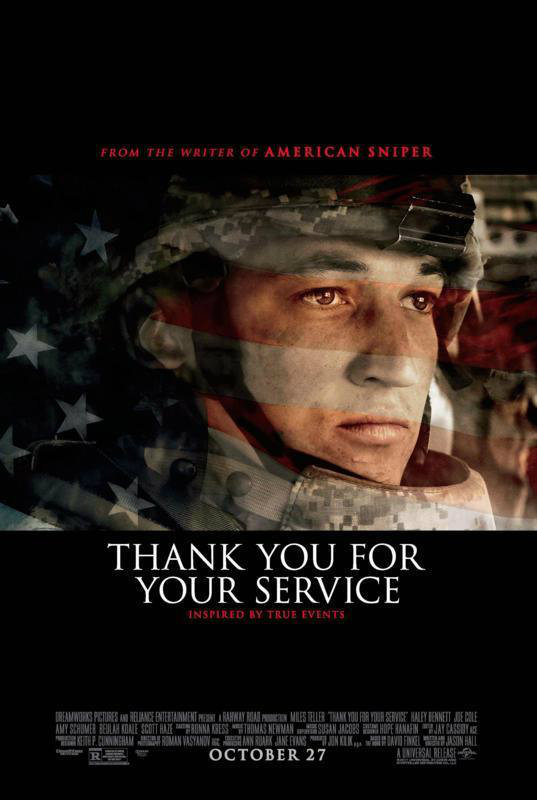 Thank You For Your Service 2017 Full HD Sinema izle